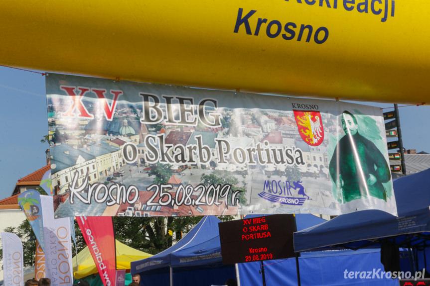 """XV Bieg uliczny """"o Skarb Portiusa"""""""