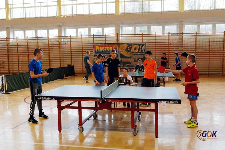 XX Gminny Turniej Tenisa Stołowego o Puchar Wójta