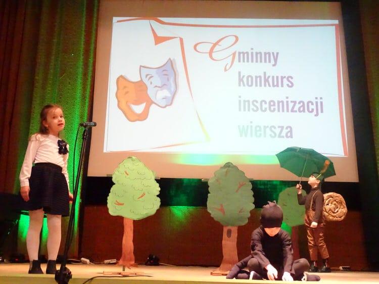 XXIII Gminny Konkurs Inscenizacji Wiersza w Iwoniczu-Zdroju