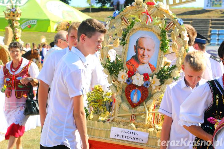 XXXII Dożynki Archidiecezji Przemyskiej w Krościenku Wyżnym