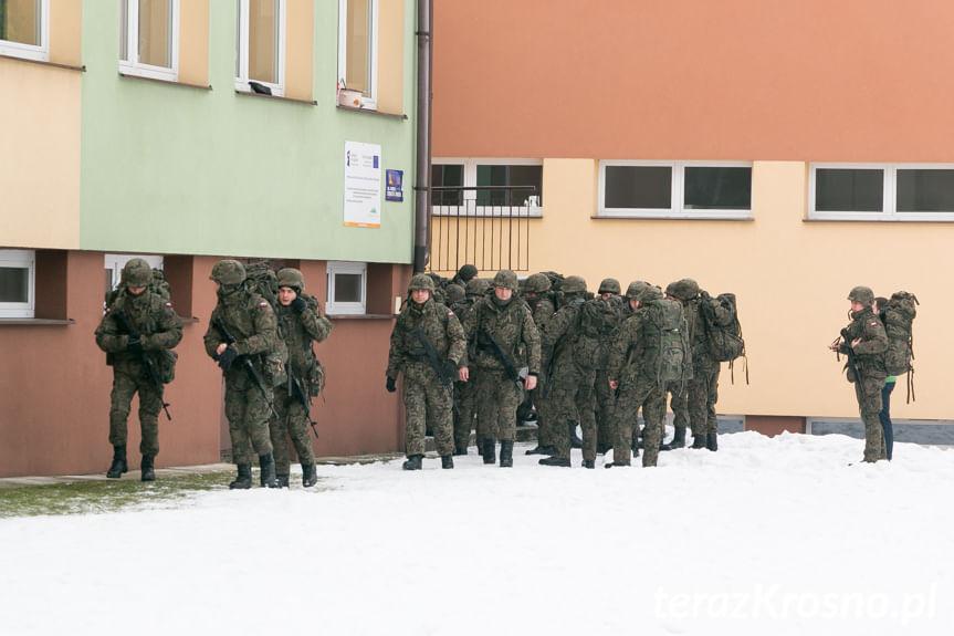 Zajęcia rotacyjne 35. batalionu lekkiej piechoty Obrony Terytorialnej