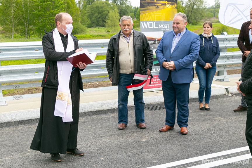 Zakończenie inwestycji - most w Odrzykoniu