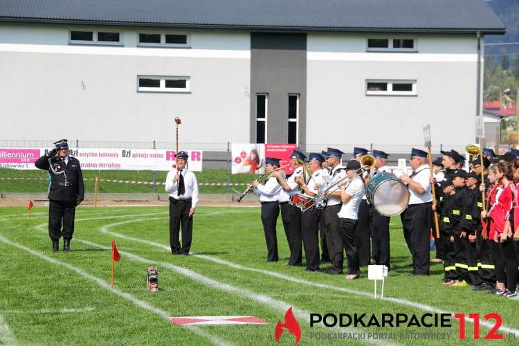 Zawody sportowo - pożarnicze w Korczynie