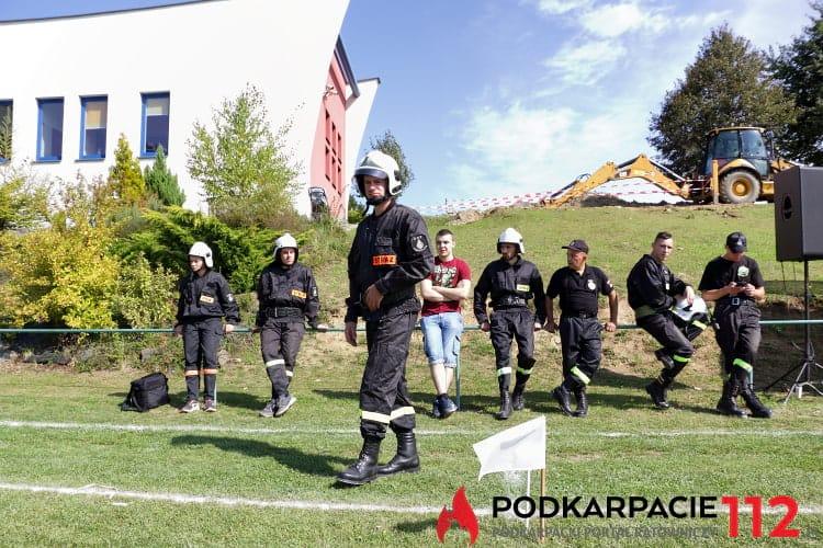 Zawody sportowo - pożarnicze w Krościenku Wyżnym
