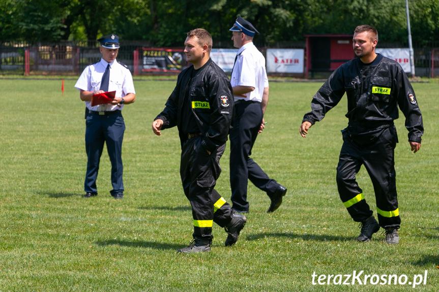 Zawody sportowo - pożarnicze w Rymanowie