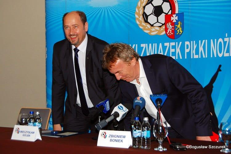 Zbigniew Boniek w Rzeszowie