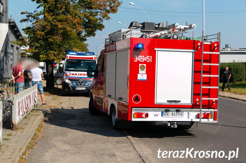 Zderzenie na Pużaka w Krośnie