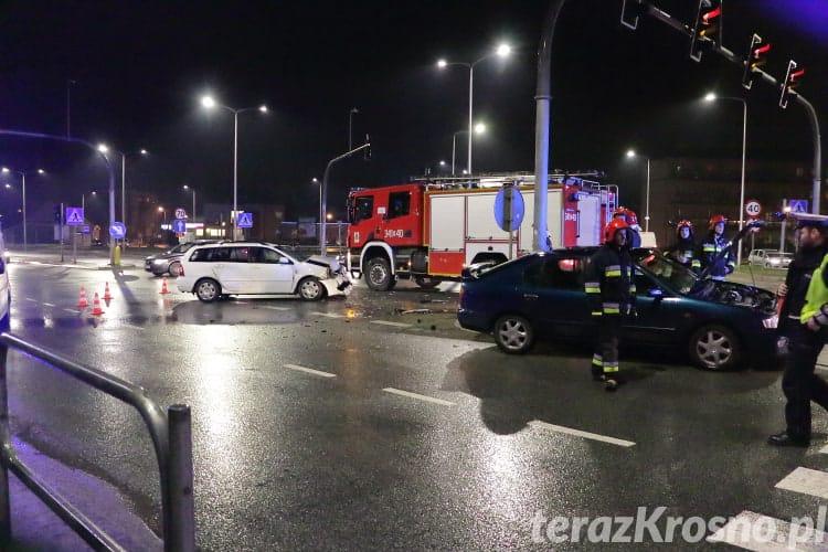 Zderzenie na skrzyżowaniu Grodzka - Podkarpacka