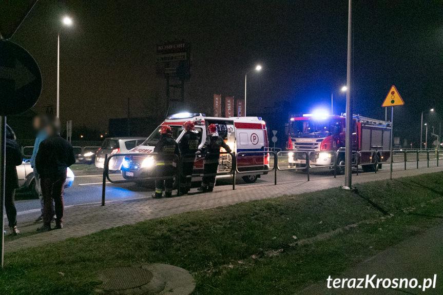 Zderzenie passatów na ul. Podkarpackiej