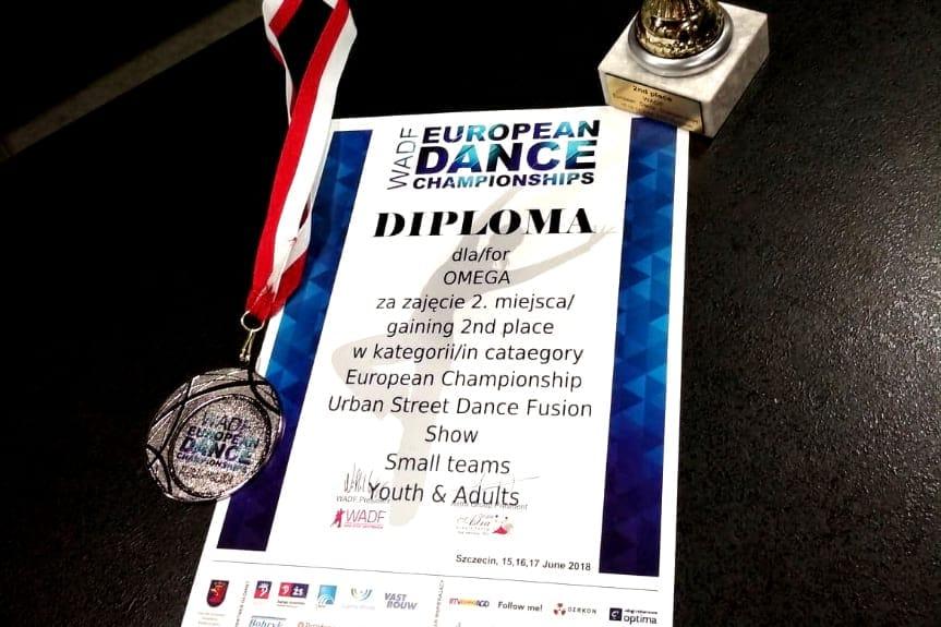 Zespół Omega Wicemistrzem Europy