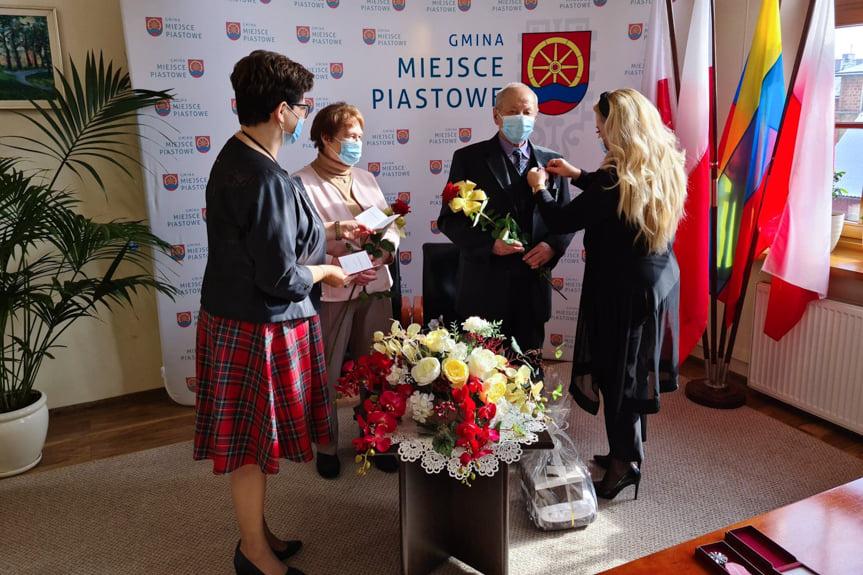 Złote Gody w gminie Miejsce Piastowe