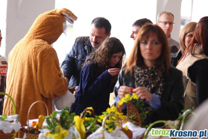 Święcenie wielkanocnych koszyków w Krośnie
