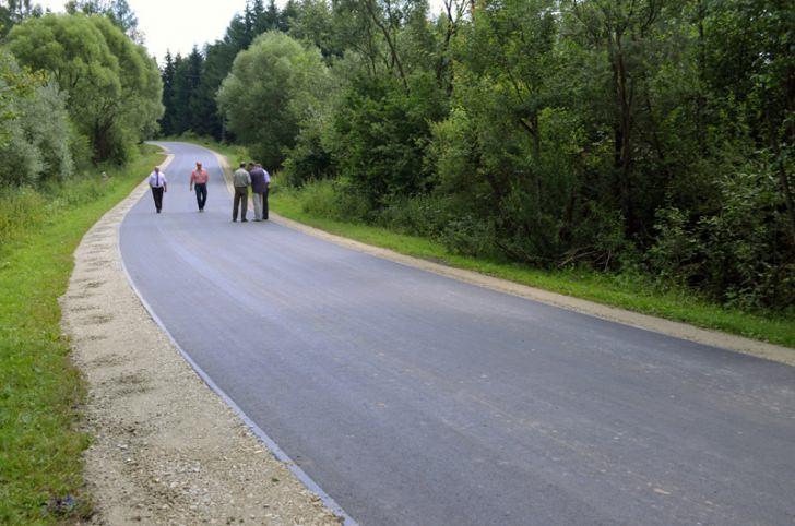 Droga powiatowa Ropianka - Olchowiec