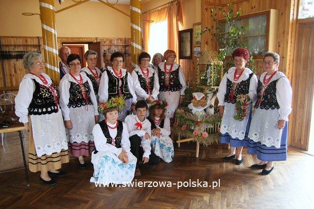 Dożynki w Świerzowej Polskiej