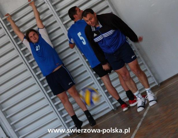 Turniej siatkarski w Świerzowej Polskiej