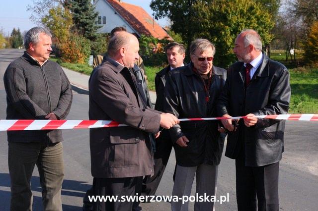 Otwarcie mostu w Świerzowej Polskiej