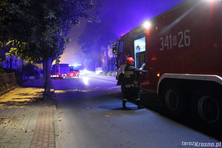 Krosno: Pożar domu na ul. Nad Lubatówką