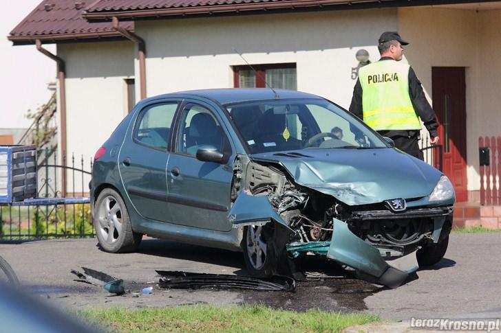 Wypadek w Chorkówce
