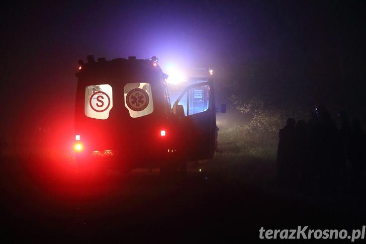 Śmiertelny wypadek w Korczynie