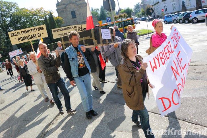 Marsz i pikieta przeciwko dopalaczom