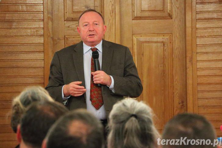 Stanisław Michalkiewicz w Dukli