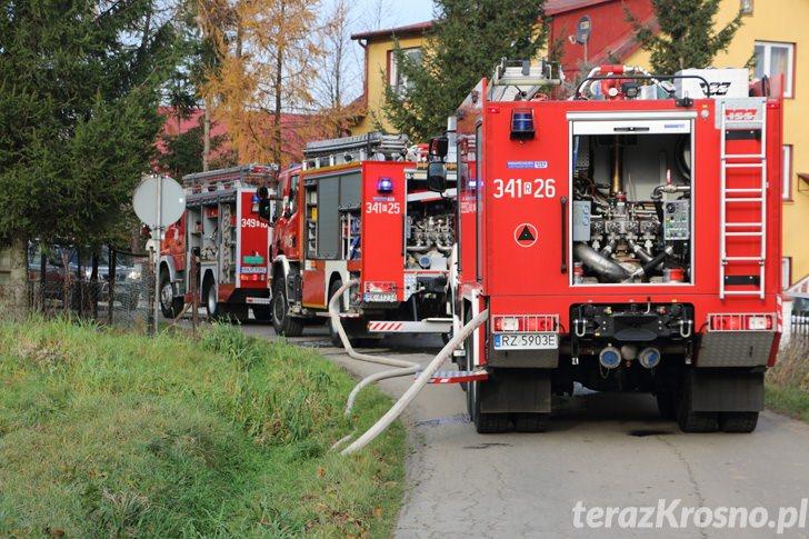 Pożar budynku gospodarczego w Teodorówce