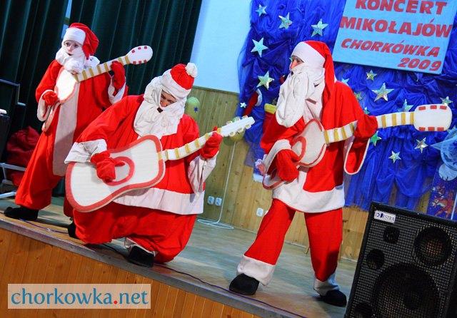 Chorkówka: Koncert mikołajów