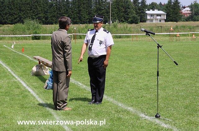 Gminne Zawody Sportowo - Pożarnicze Gminy Chorkówka OSP