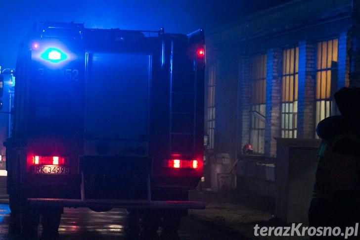 Pożar w zakładzie SIP Krosno
