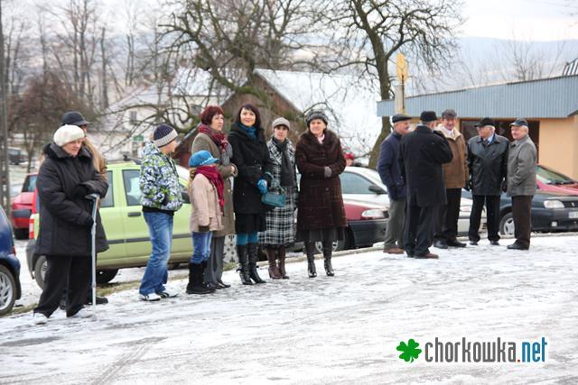 Uroczystości przy pomniku w Kobylanach