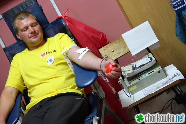 Zbiórka krwi w Zręcinie