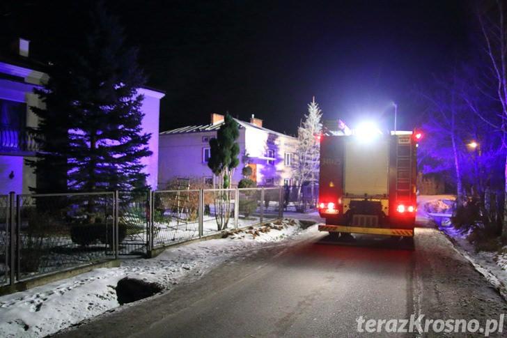 Świerzowa Polska: Pożar sadzy w kominie