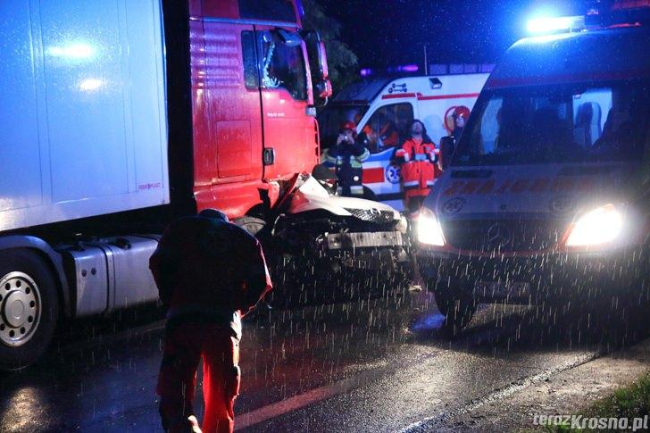 Śmiertelny wypadek w Cergowej