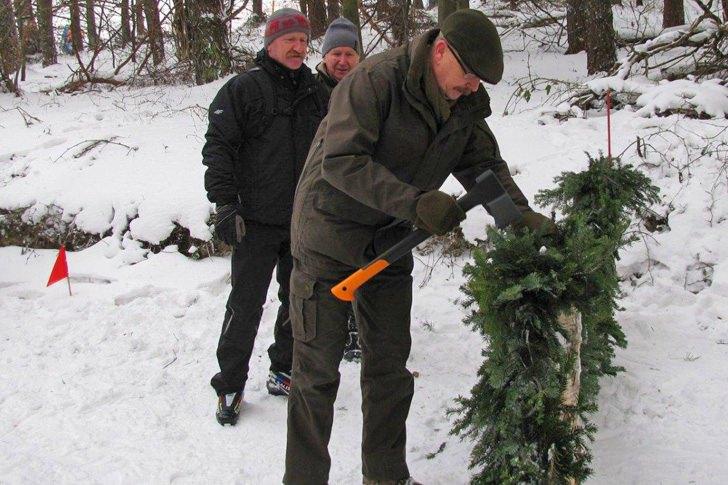 Otwarcie leśnej trasy biegowej w Puławach
