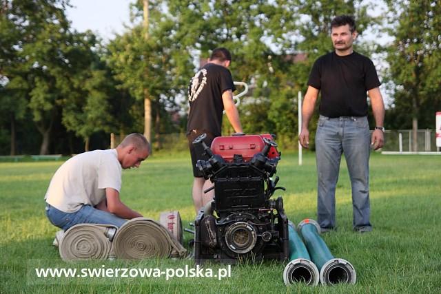 Trening druhów OSP Świerzowa Polska