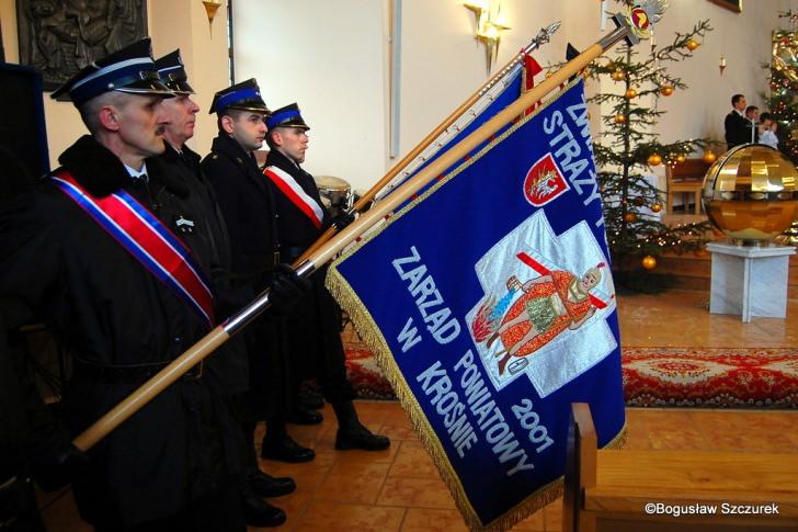 Pogrzeb pułkownika pożarnictwa Tadeusza Kubita