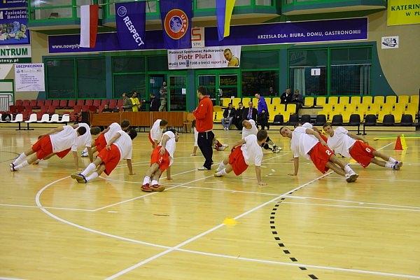 Futsal: Polska - Ukraina 4:6