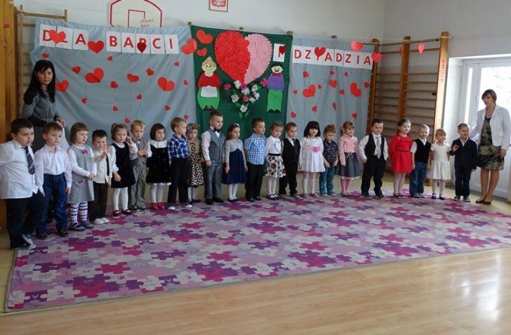 Święto Babci i Dziadka w Przedszkolu Gminnym w Dukli