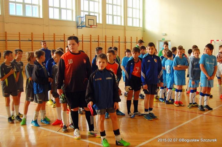 Halowy Turniej Piłki Nożnej o Puchar Wójta Gminy Jaśliska