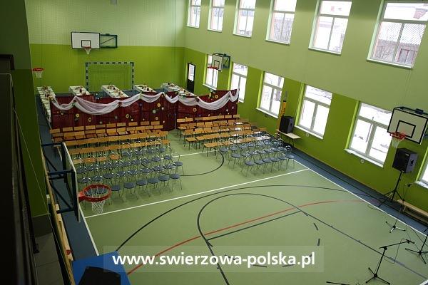 Otwarcie sali gimnastycznej w Szczepańcowej