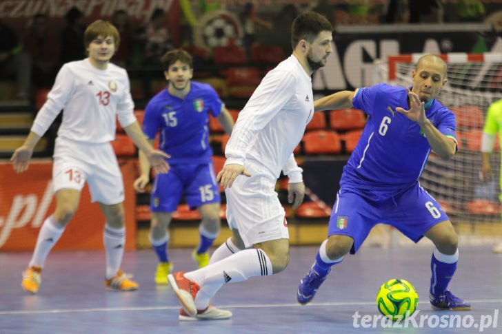 Futsal: Włochy - Białoruś 2:1