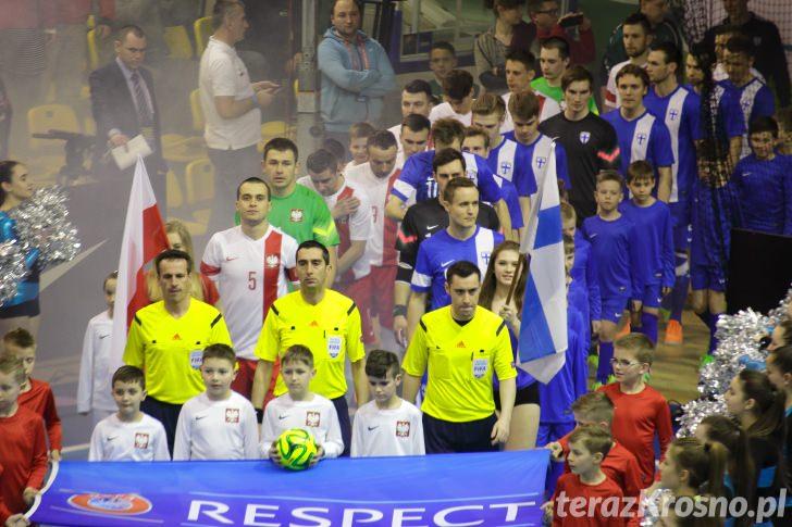 Futsal: Polska - Finlandia 2:3