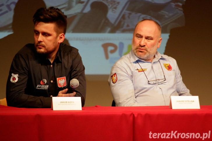 Konferencja prasowa Polish Speedway Battle
