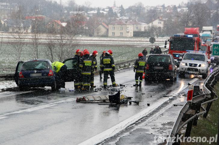 Zdarzenie dwóch samochodów w Rogach