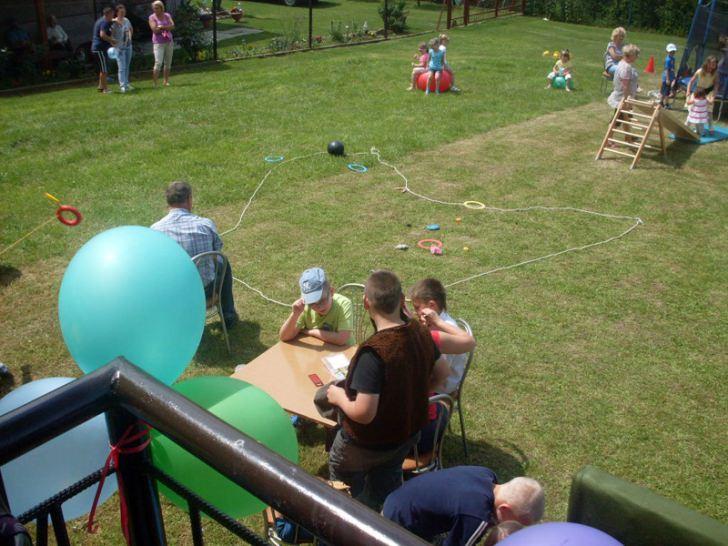 Piknik z okazji Dnia Dziecka w Faliszówce