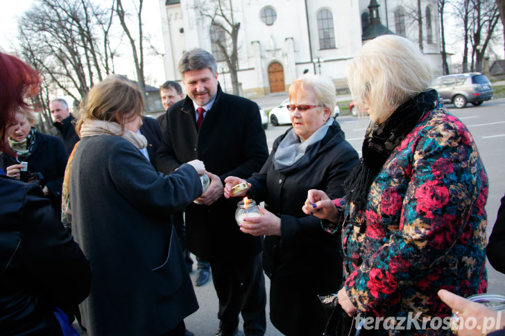 Obchody 75. rocznicy Zbrodni Katyńskiej i 5. rocznicy Katastrofy Smoleńskiej w Zręcinie