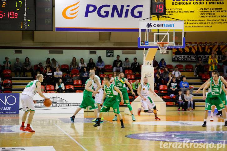 Miasto Szkła Krosno - Znicz Basket Pruszków 78:63