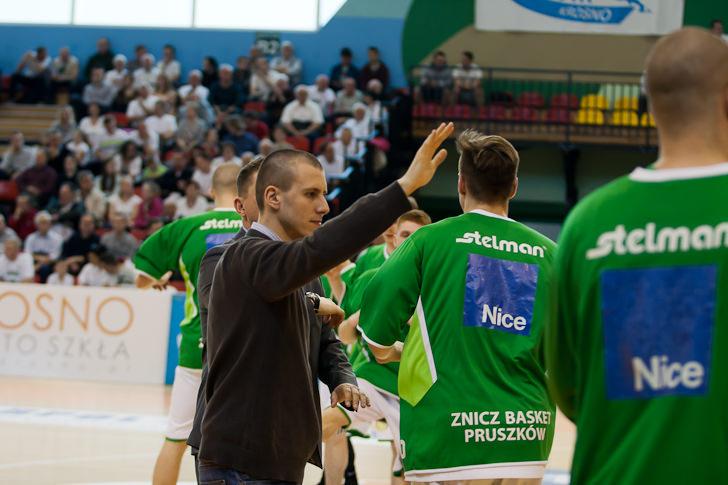Miasto Szkła Krosno - Znicz Basket Pruszków 81:72