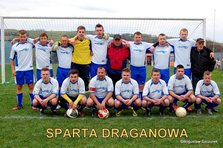 Sparta Draganowa - Rędzinianka Wojaszówka 0:3