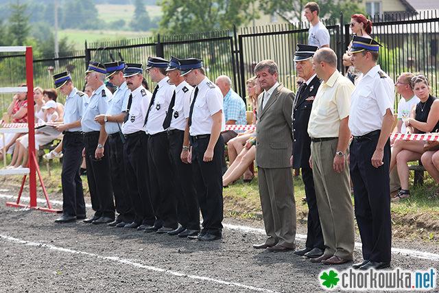Gminne Zawody Sportowo - Pożarnicze Gminy Chorkówka w Kobylanach